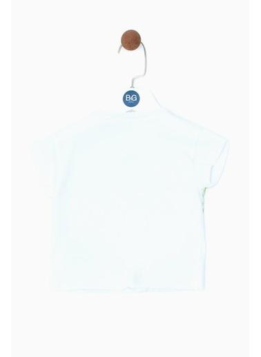 BG Baby Erkek Bebek Beyaz T-Shirt 19SS0BG1503 Beyaz